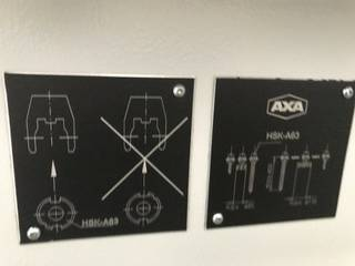 Frezarka AXA VSC 3 XTS, Rok prod.  2007-10