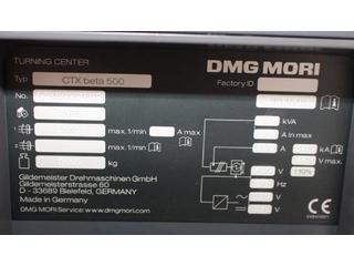 Tokarka DMG CTX Beta 500  3.300 SpStd-8