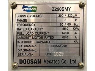 Tokarka Doosan Z 290 SMY-5