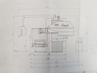 MTE Kompakt Plus Frezarka Bed-10