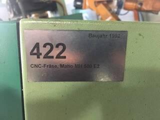 Frezarka Maho MH 500 E 2, Rok prod.  1992-2