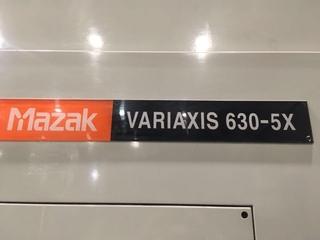 Frezarka Mazak Variaxis 630 5X, Rok prod.  2003-8