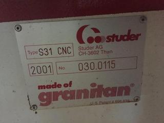Szlifierka Studer S 31 universal full +B axis + C axis rebuilt-5
