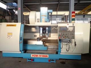 Frezarka YCM Supermax V 168 A, Rok prod.  1998-3