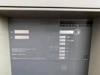 Frezarka DMG DMU 50 (3+2), Rok prod.  2004-5