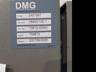 Frezarka DMG DMU 80 P duoBlock 18.sp 60 Wz, Rok prod.  2006-8