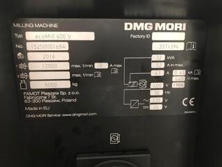 Frezarka DMG Mori ecoMill 600V, Rok prod.  2016-3