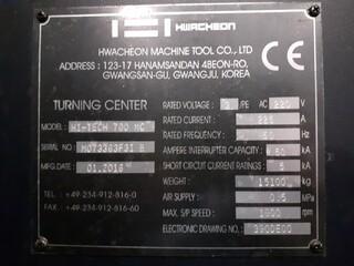 Tokarka Hwacheon Hi Tech 700 MC-8