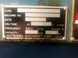 Frezarka Matsuura MAM 72 25V, Rok prod.  2007-5