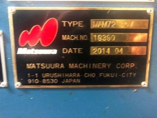 Frezarka Matsuura MAM 72 35V, Rok prod.  2014-9