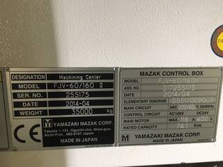 Frezarka Mazak FJV 60/160-9