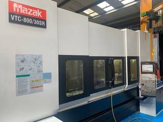 Frezarka Mazak VTC 800 / 30 SR, Rok prod.  2008-5
