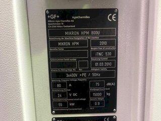 Frezarka Mikron HPM 800 U-13