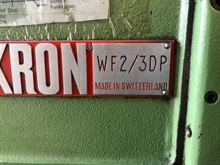 Frezarka Mikron WF3 DP, Rok prod.  1900-1