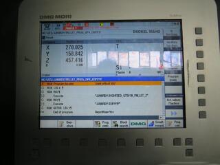 Frezarka Mori Seiki NHX 4000, Rok prod.  2012-5