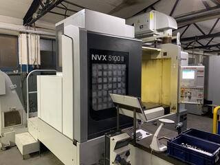 Frezarka Mori Seiki NVX 5100 II 40, Rok prod.  2013-1