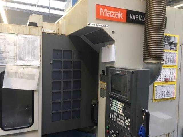 więcej zdjęć Frezarka Mazak Variaxis 500 5X - Production line 2 machines / 14 pallets, Rok prod.  2005