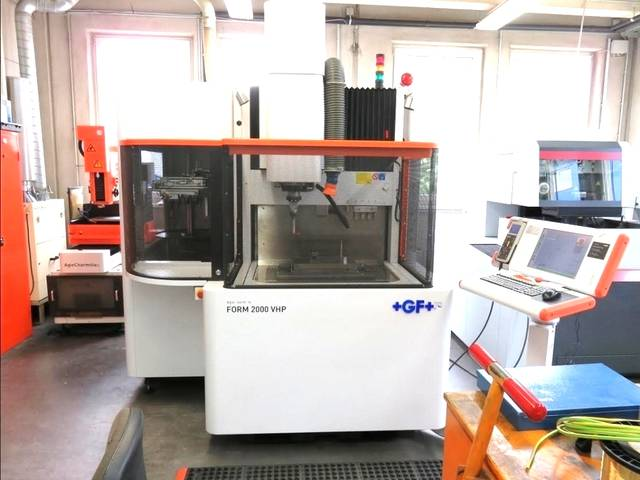 więcej zdjęć Agie Charmille Form 2000 VHP Maszyny EDM