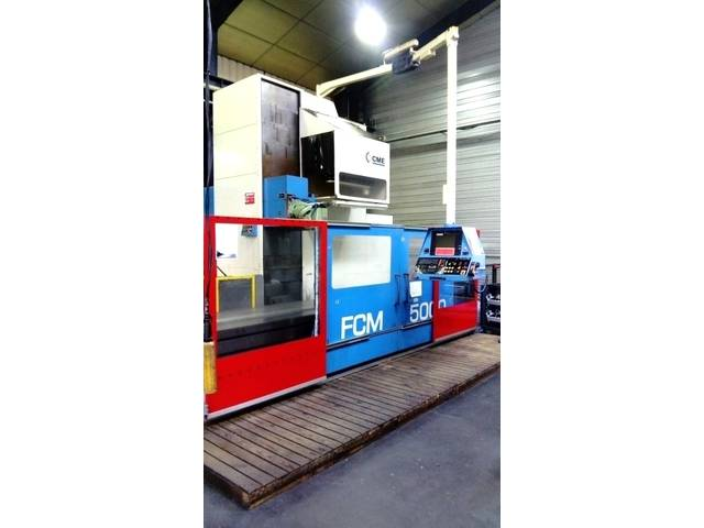 więcej zdjęć CME FCM - 5000 x 950 Frezarka Bed