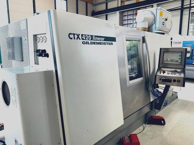 więcej zdjęć Tokarka DMG CTX 420 Linear V6
