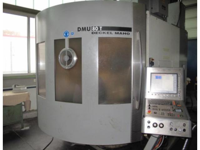więcej zdjęć Frezarka DMG DMU 80 T Turbinenschaufeln/fanblades