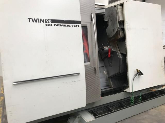 więcej zdjęć Tokarka DMG Twin 90