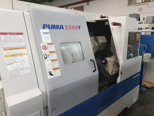 więcej zdjęć Tokarka Doosan Puma 2500 Y