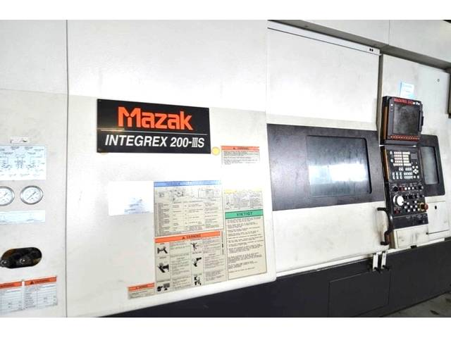 więcej zdjęć Tokarka Mazak Integrex 200 III S  + Flex GL 100 F