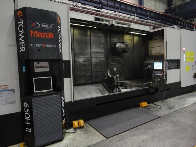więcej zdjęć Tokarka Mazak Integrex E 650 H S II
