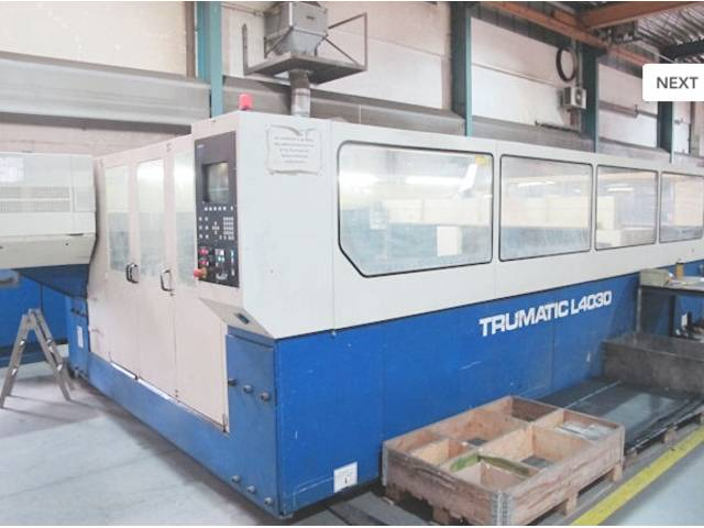 więcej zdjęć Trumpf TCL 4030 - 3000 W Urządzenia do cięcia laserem