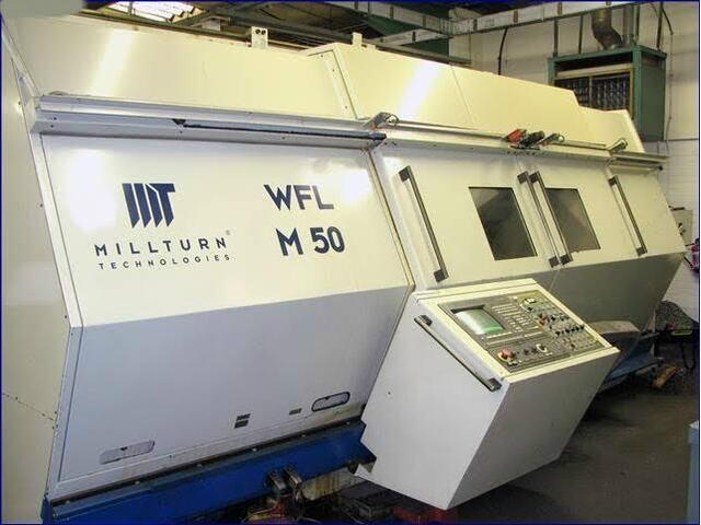 więcej zdjęć Tokarka WFL Millturn M 50