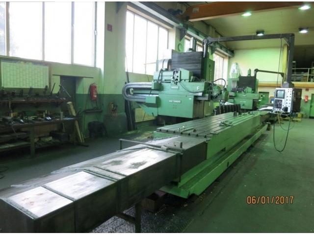 więcej zdjęć Zayer KF 5000 CNC 4700 Frezarka Bed