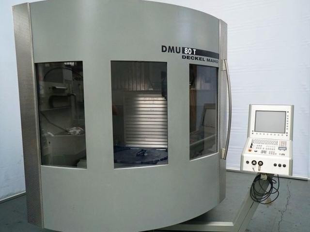 więcej zdjęć Frezarka DMG DMU 80 T