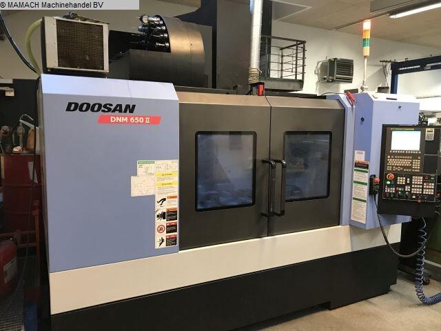 więcej zdjęć Frezarka Doosan DNM 650 II
