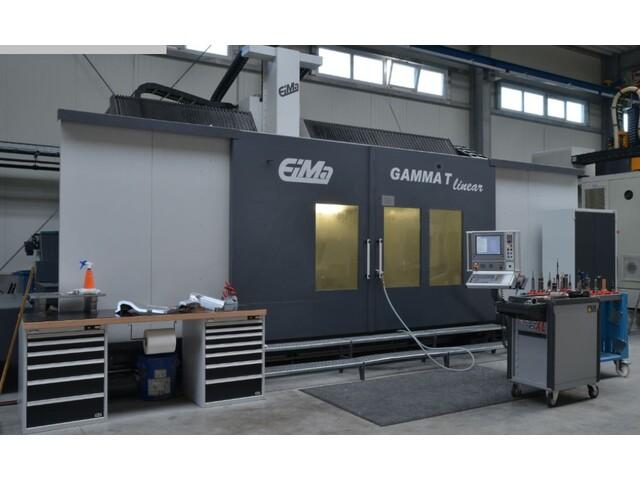 więcej zdjęć EIMA Gamma T linear portal frezarki