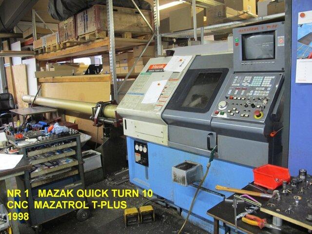 więcej zdjęć Tokarka Mazak QT 10
