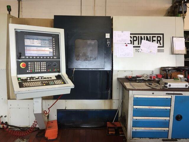 więcej zdjęć Tokarka Spinner TC 77 MCY