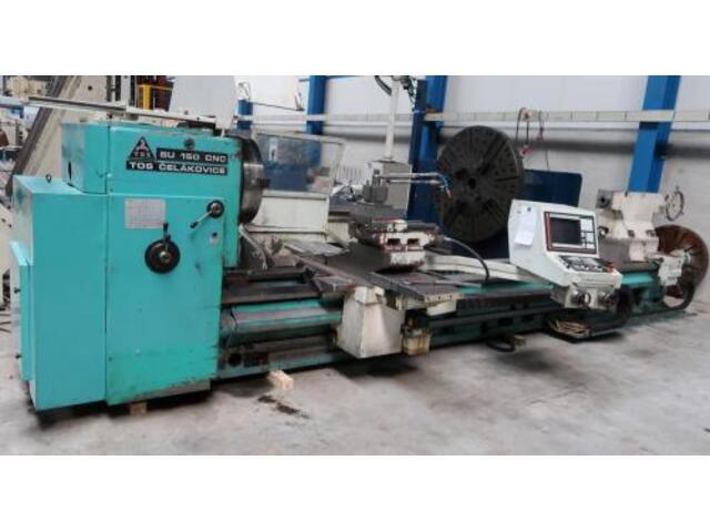 więcej zdjęć Tokarka TOS SU 150 CNC 5000